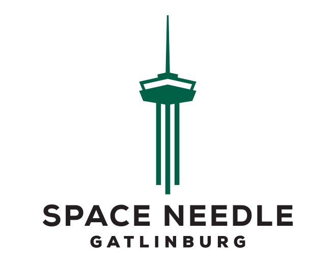 Space Needle Logo | Gatlinburg Attractions