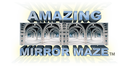 Amazing Mirror Maze Logo | Gatlinburg Attractions