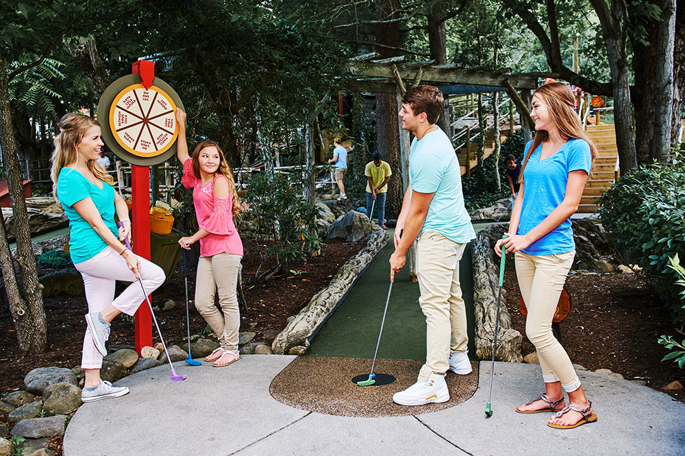 Ripley's Davy Crockett Mini-Golf (Slider Image 4) | Gatlinburg Attractions