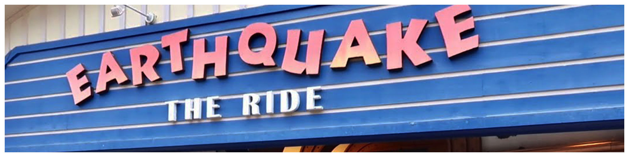 Earthquake The Ride (Header Background) | Gatlinburg Attractions