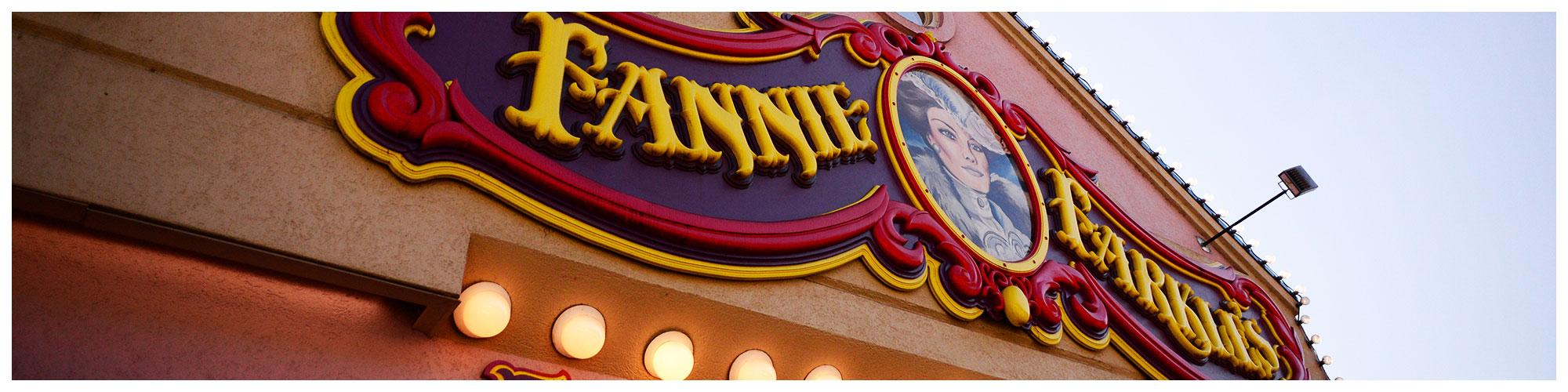 Fannie Farkle's (Header Background)   Gatlinburg Attractions