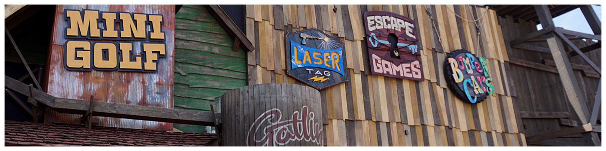 Gatlin's Laser Tag (Header Background) | Gatlinburg Attractions