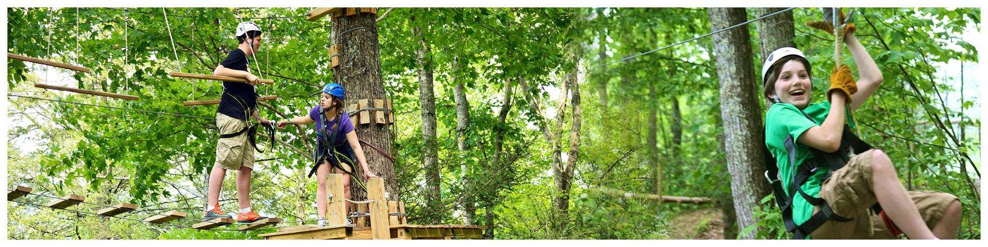 Gatlinburg Ziplines (Header Background) | Gatlinburg Attractions