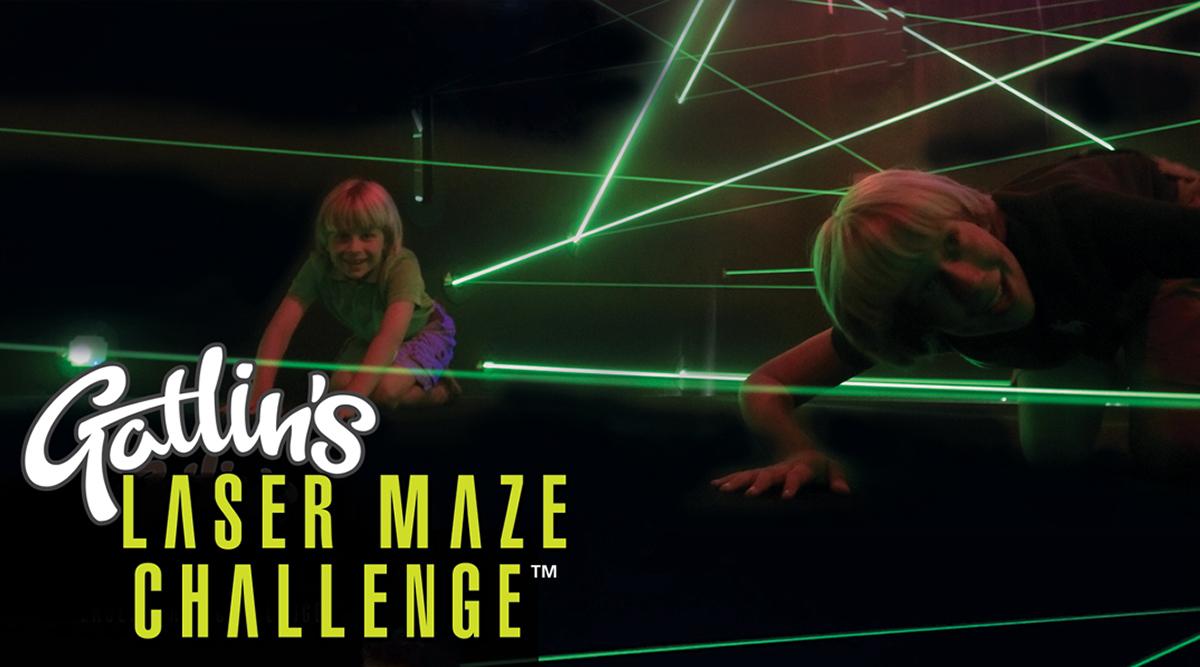 Gatlin's Laser Maze Challenge | Gatlin's Laser Tag & More | Gatlinburg Attractions