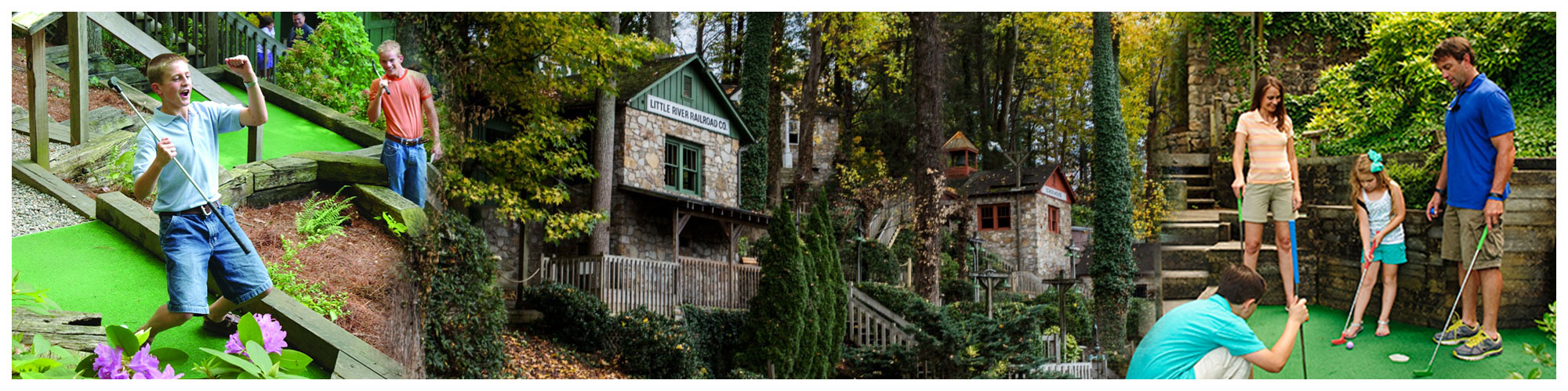 Gatlin's Mini Golf (Header Background) | Gatlinburg Attractions