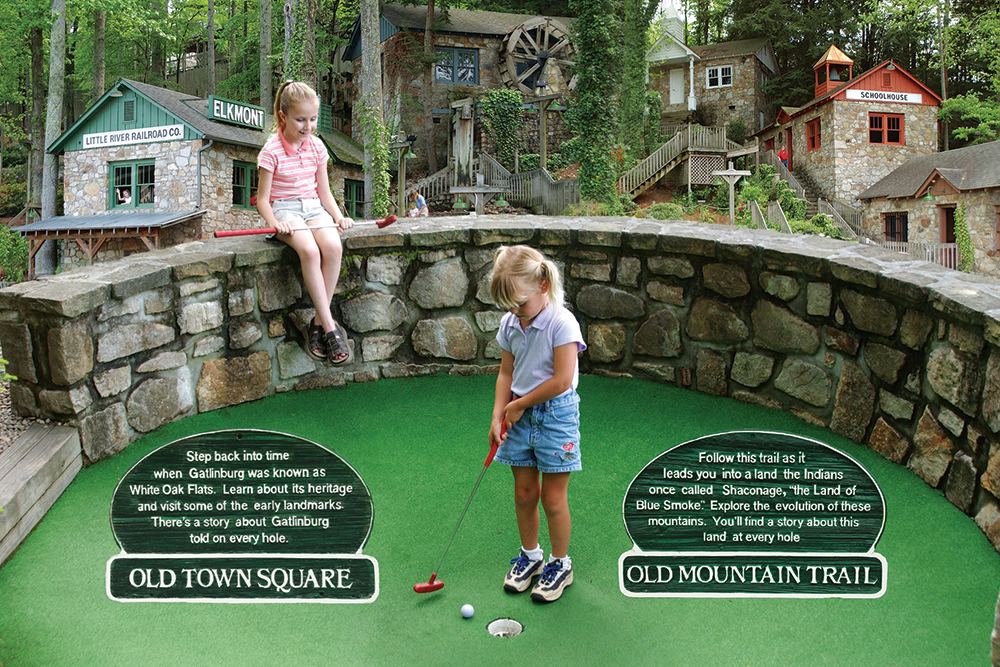 Gatlin's Mini Golf (Slider Image 7) | Gatlinburg Attractions
