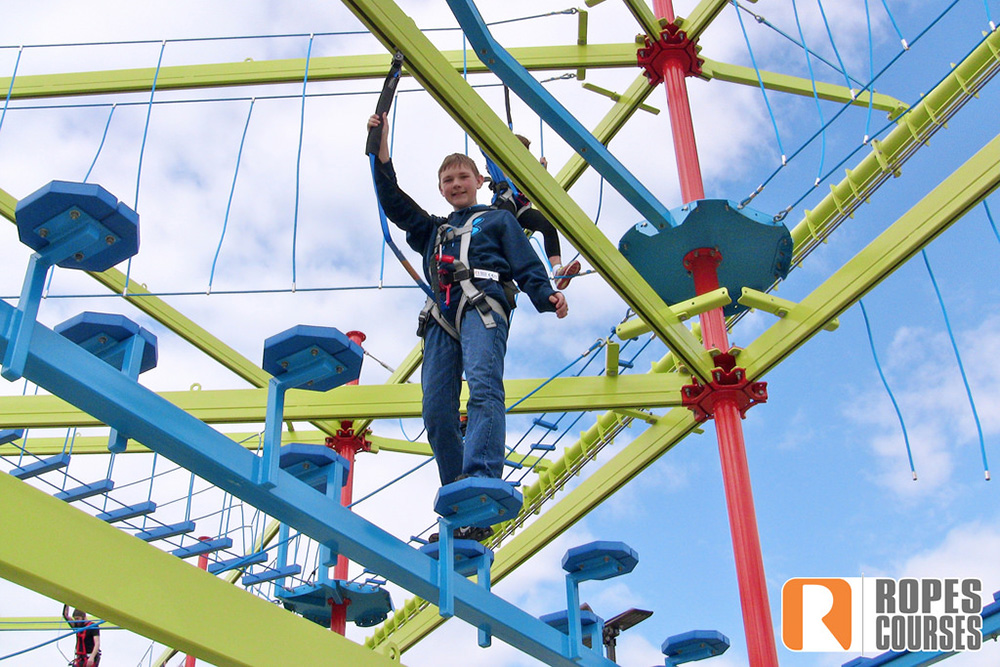 Gatlin's Rugged Ropes Adventure Course (Slider Image 0102) | Gatlinburg Attractions