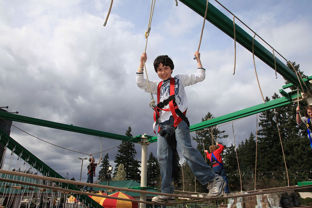 Gatlin's Rugged Ropes Adventure Course (Slider Image 1001) | Gatlinburg Attractions