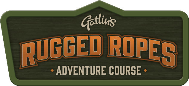 Gatlin's Rugged Ropes Adventure Course Logo | Gatlinburg Attractions