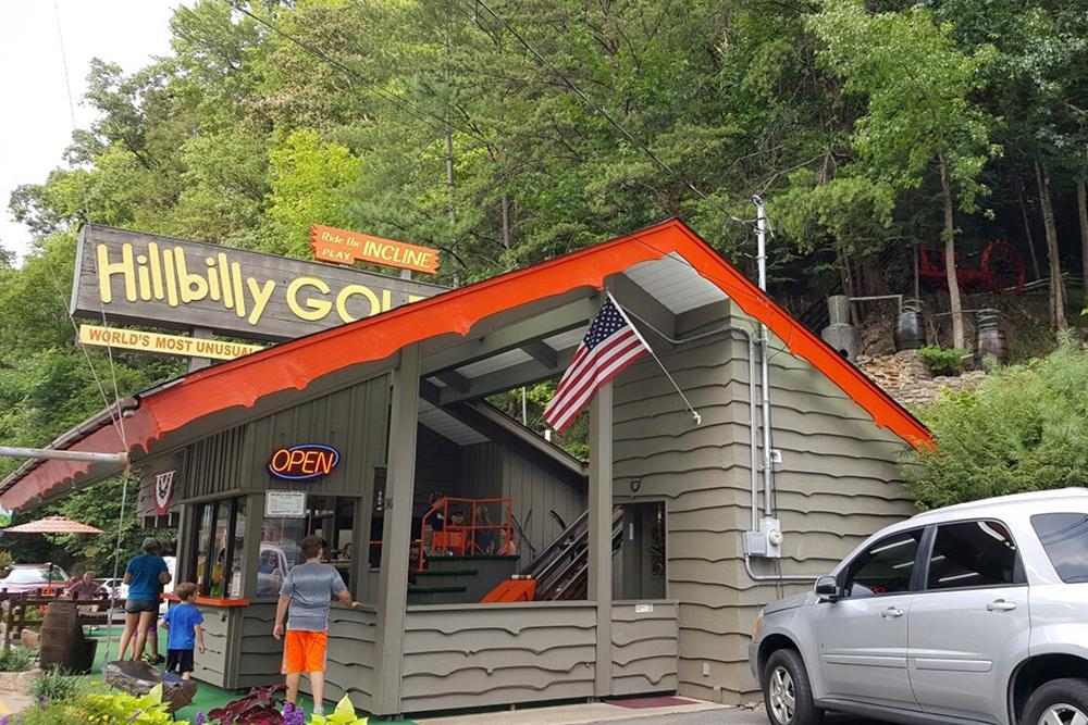 Hillbilly Golf (Slider Image 4) | Gatlinburg Attractions