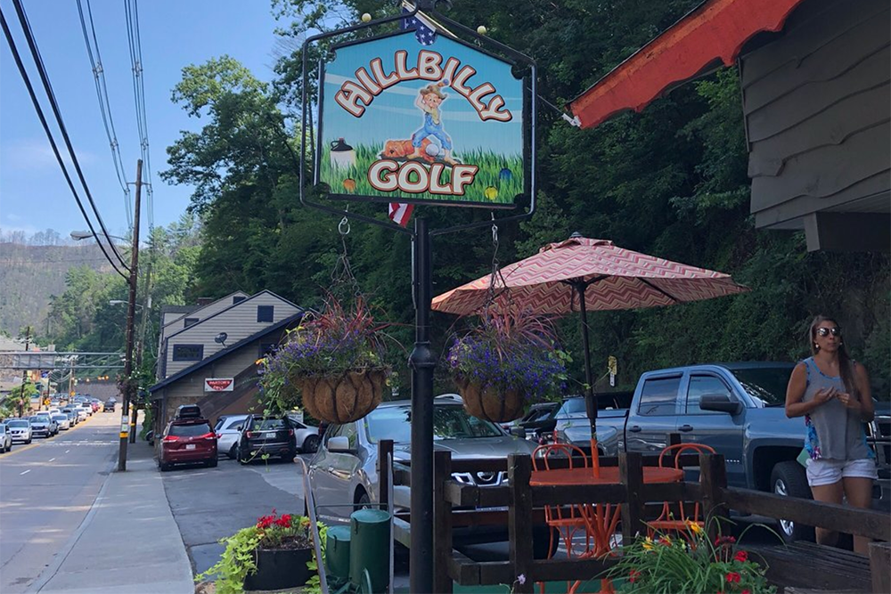 Hillbilly Golf (Slider Image 9) | Gatlinburg Attractions