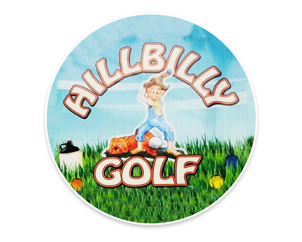 Hillbilly Golf Logo | Gatlinburg Attractions