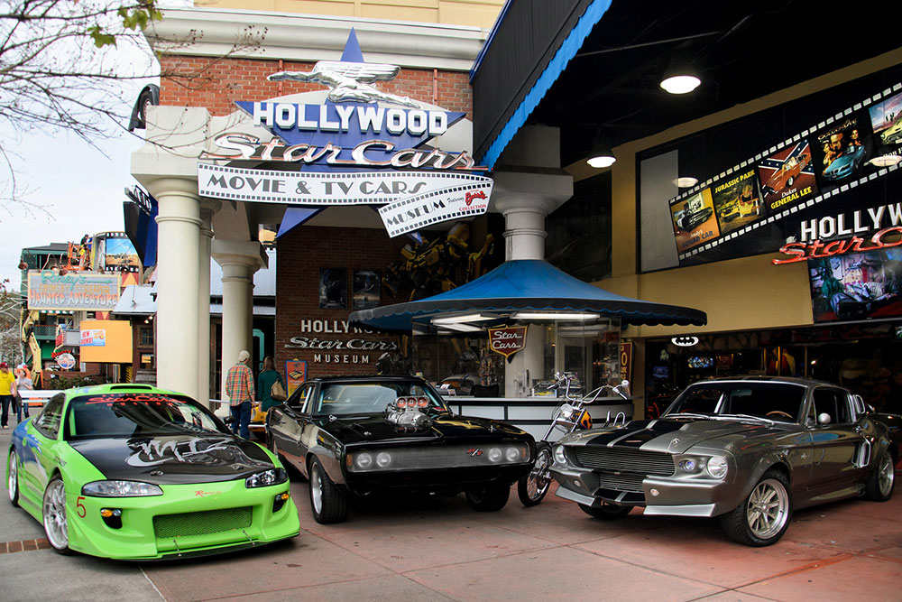 Hollywood Star Cars Museum (Slider Image 1) | Gatlinburg Attractions