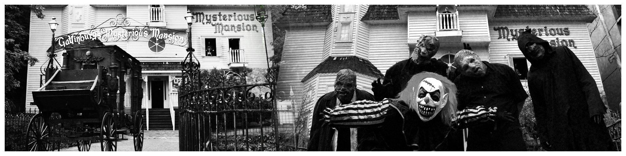 Mysterious Mansion (Header Background) | Gatlinburg Attractions