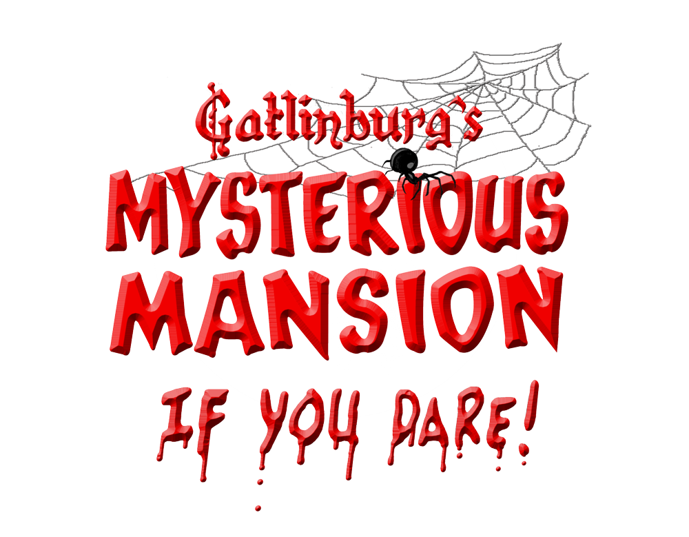 Mysterious Mansion Logo | Gatlinburg Attractions