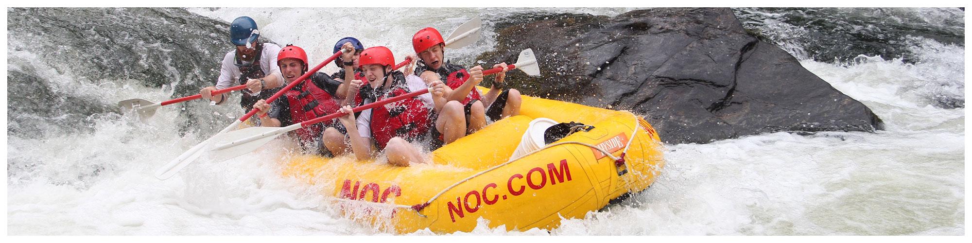 NOC Nantahala Outdoor Center (Header Background) | Gatlinburg Attractions