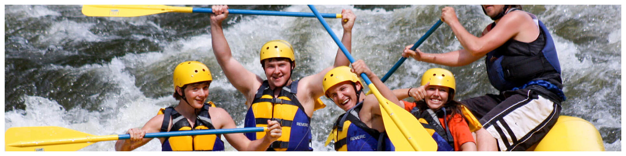 Rafting in the Smokies (Header Background) | Gatlinburg Attractions