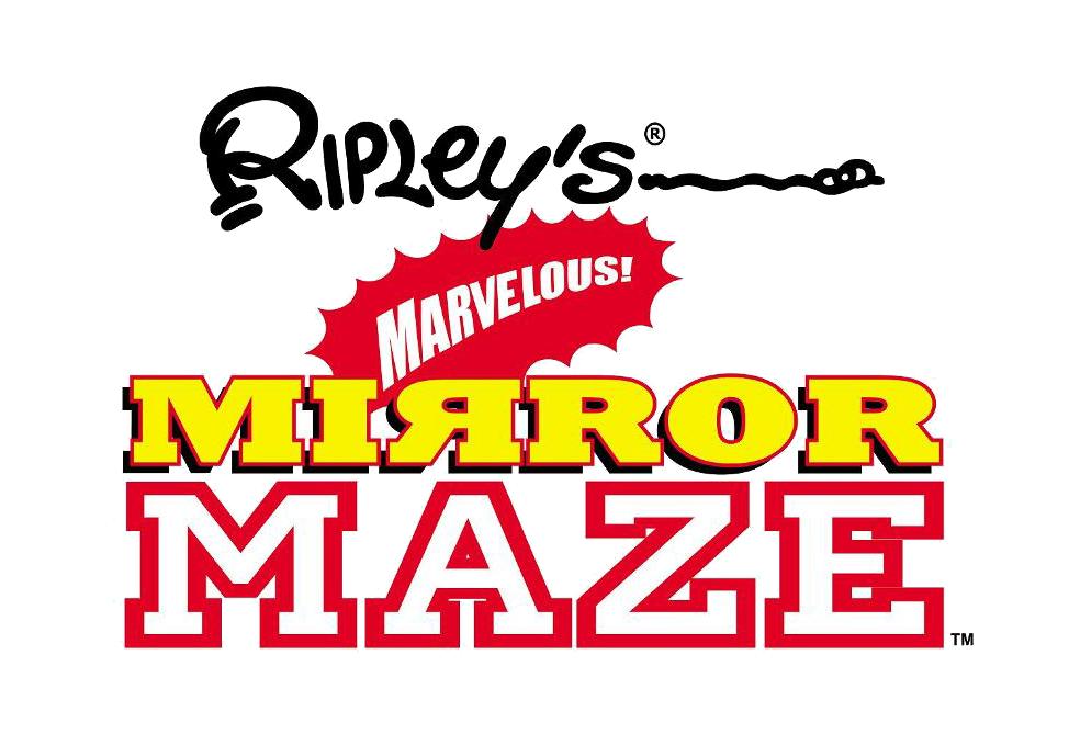 Ripley's Marvelous Mirror Maze Logo | Gatlinburg Attractions