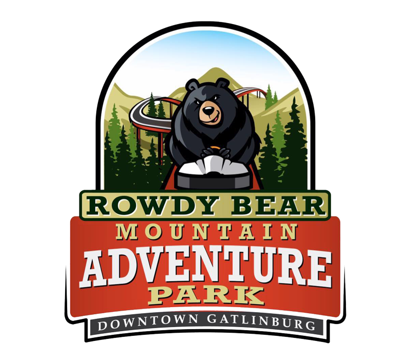 Rowdy Bear Mountain Adventure Park Logo | Gatlinburg Attractions