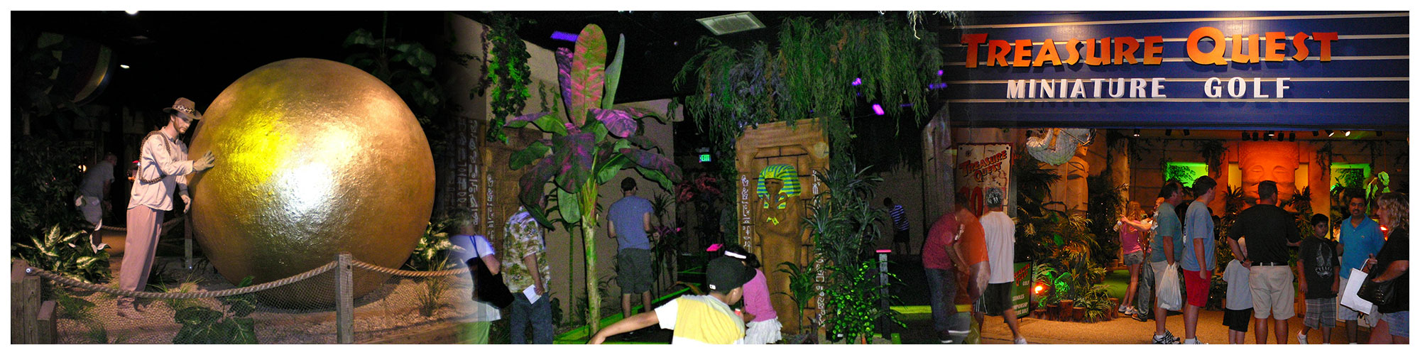 Treasure Quest Golf (Header Background) | Gatlinburg Attractions
