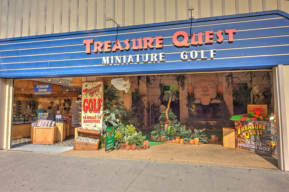 Treasure Quest Golf (Slider Image 7) | Gatlinburg Attractions